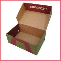 Boîte à chaussures en carton Kraft personnalisée boîte à chaussures Chaussures Chaussures ondulé Paper Box Emballage Boîte postale d'emballage du caisson de boîte d'expédition boîte en carton