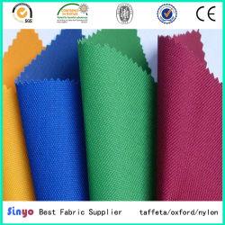 Pas de lignes blanches chiffon Oxford enduit de PVC 600d*300D polyester Tissu bon marché pour les sacs d'école