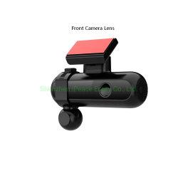 4K는 이동할 수 있는 안쪽 사진기를 가진 렌즈 Dashcam, GPS를 가진 차 DVR, WiFi 및 G 센서 이중으로 한다