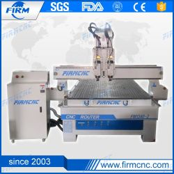 Bekanntmachendes Metall des Holzbearbeitung-Hilfsmittel-1325, das CNC-Fräser-Maschine schnitzend prägt