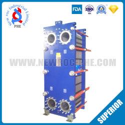 Échangeurs de chaleur Plaque en acier inoxydable se conformer à la norme ISO9001 FDA pour le chauffage ou refroidissement