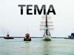 De verschepende Dienst van Qingdao aan Tema door Overzeese Te verschepen