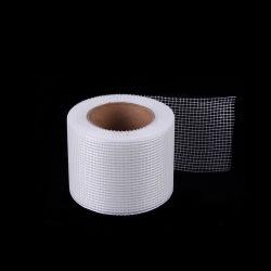 Álcali de malla de Tela semitransparente de fibra de vidrio de doble cara cinta autoadhesiva de cinta de malla de fibra de vidrio.