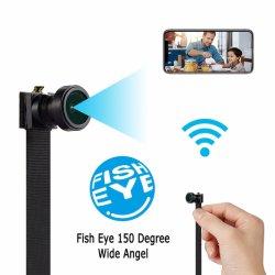 1080p HD широкий угол обзора 150 градусов беспроводной IP-камера безопасности видеокамеры видео