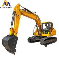 85kw Yuchai Motor escavadora de rastos 13500kg utilizadas com 5.1m Profundidade de Escavação