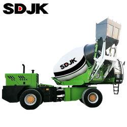 3500L 공장 가격을%s 가진 자동 장전 구체 믹서 트럭 기계