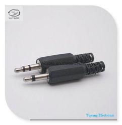 3,5mm/3,5 Mono/Stereo-Stecker/Buchse für AV/Audio/Medien/RCA mit Kabelschutz