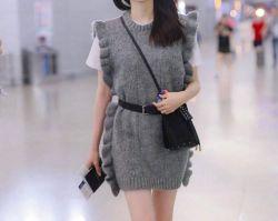 ملابس محبوك للنساء الملابس الصوفية الصرفة تصميم نبيتلل مع الكمأة