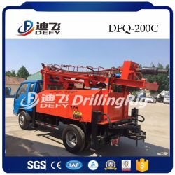 Martillo montados sobre camiones plataforma de perforación de pozos de agua para la venta