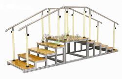 歩くリハビリテーションのためのTwo-Side木のトレーニング階段
