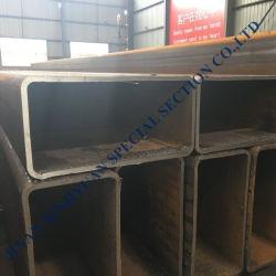 Venta caliente de fábrica de 100mm tubo de acero cuadrado hueco del tubo de 100mm*