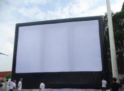 Écran de projection arrière gonflable, gonflable Cinema Écran de l'air, gonflable / Ecran de projection de film