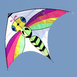 Hot Sale Outdoor Toy Bee Kite pour les enfants/enfants