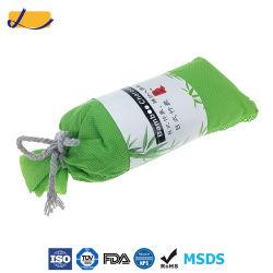Absorbedor de olores saco de carbón de bambú desodorante para refrigerador