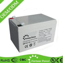 12V 12Ah recargable de 20 horas de batería de UPS para UPS
