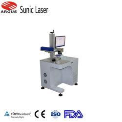 machine de marquage au laser à fibre marque sur les pièces automobiles Téléphone Mobile l'anneau de cas d'un insigne le chargeur
