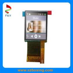وحدة شاشة X340p AMOLED مقاس 1,45 بوصة مقاس 272 بوصة (RGB) مع لوحة تعمل باللمس للتنبيه الذكي