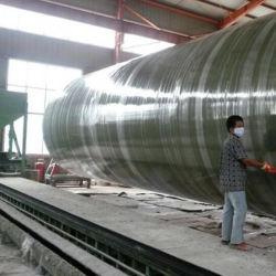 耐熱性GRP FRP 800mm 1000mmの直径のプラスチック管