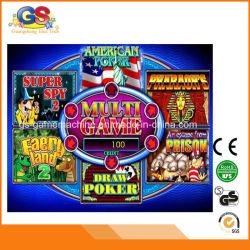 Multi video schede di gioco americane del gioco di mazza di tiraggio di Gamintor