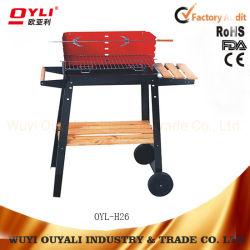Griglia semplice del BBQ del carbone di legna della cucina di rettangolo esterno di Equipmentgarden