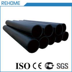 Черные пластиковые трубы Pn16 подачи воды HDPE трубы