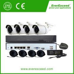 3MP cámara IP Bullet Poe Poe 8CH Kit de NVR CCTV