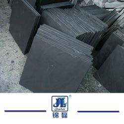 自然な黒くか灰色または緑または転落させるまたは狂気または屋根を付けるか、または不規則な形の石のスレートの舗装