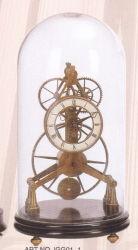Horloge mécanique de bronze avec couvercle en verre (SG01-1)