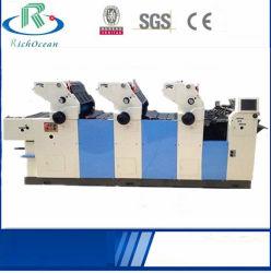 Drei Farben-Offsetdrucken-Maschinen-China-Lieferant