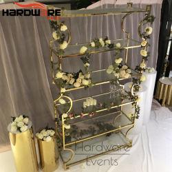 La barra de acero inoxidable muebles Hotel moderno Bar Racks