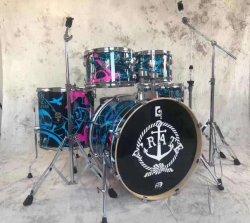5PCS conjunto do tambor/Kit de tambor com o manípulo do tambor (ADK100)