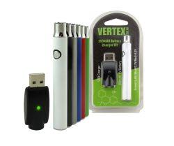Gipfel Cbd Torsion-FederVaporizer wärmen elektronische Zigarette der Batterie-350mAh vor