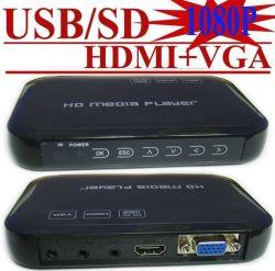 광고 매체 선수 (VGA HDMI HDD 미디어 플레이어 1080P)