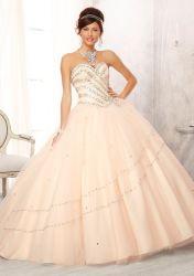 На плече роскошь валика клея-участник Vestidos 15 Anos Vintage Quinceanera платья сладкий 16 Quinceanera платье