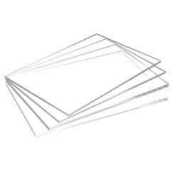 Scheda PVC foglio di plastica altamente trasparente piastra rigida PVC