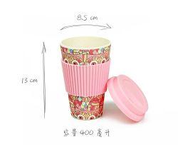 De fibra de bambu Zero-Waste ambiental chávena de café