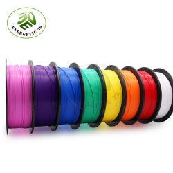 Fabricante 1,75mm 1kg/Spool de PETG filamentos 3D 3D consumíveis de impressão