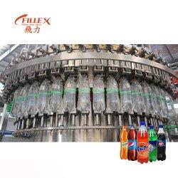 6000 BPH، مشروبات غازية تلقائية، خط إنتاج تعبئة، ناعمة المشروبات / الكولا / آلة تعبئة المشروبات الطاقة