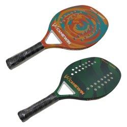 OEM はビーチテニスラケット Amazon カーボンパドルテニスラケットを歓迎した