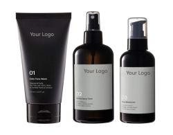 Männer Hautpflegeprodukte Set Face Oil Control Moisture Cleanser Tonercreme