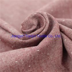 Jacquard del cotone con il tessuto di stirata