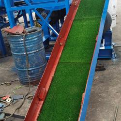 Tapete Gold Dushing aprovado Tail Sand High Recovery Gold Mining Caixa de gelo com relva aderente para separação de mineração de ouro