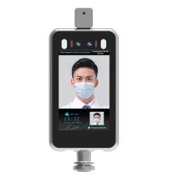 Dynamique de la borne de reconnaissance faciale avec fièvre Detcetion