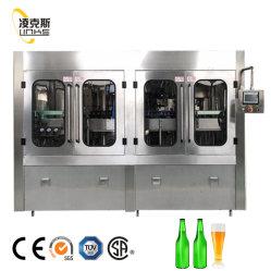 300 ml-1000 ml linea automatica bottiglia pianta bevanda/succo/ bevanda gassata Soda/bevanda analcolica/acqua Linea di riempitrici per imbottigliamento di acqua minerale pura