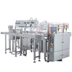 Гарантия качества автоматического апельсиновый сок, мед упаковочные машины для жидкости