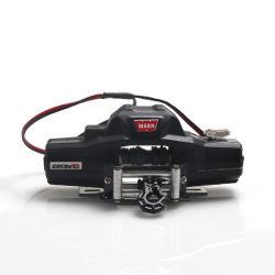 シミュレーション上昇車のウィンチ、リモート・コントロール車モデル1/10のスケールRCのクローラー車二重モーターのためのアクセサリの金属のウィンチに警告しなさい