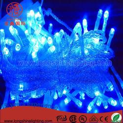 Weihnachtsdekoration-Zeichenkette-Lichter LED-wasserdichte Belüftung-Draht 10m-100LED