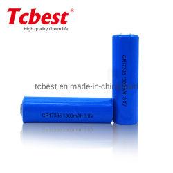 Tcbest CR17335 3V 1500mAh Batterie au lithium batterie au lithium CR17335 primaire pile sèche