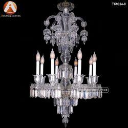 Grande lampe en verre européen utilisé pour banquets et fêtes