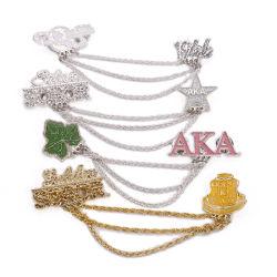 方法水晶ロゴの肖像画の信頼によっては祈るブレスレットまたはネックレス(魅力05)のためのカスタム吊り下げ式の宝石類の魅力が